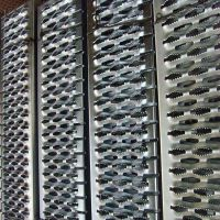 不锈钢 铝板冲孔网圆孔滤筒声屏障
