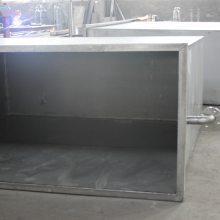 专业生产订制电解行业用TA1TA2钛槽钛电镀槽溶液槽