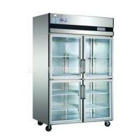 冰箱批发酒店厨具   SG1.0E4四玻门高温展示柜   冷冻冷藏展示柜
