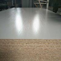 双贴面白色密度板免漆板中纤板三聚氰胺饰面板