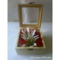 亚克力木盒 永生花礼盒 收纳盒 透明饰品礼品盒 包装盒精工制作
