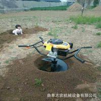 厂家直销合金头直径30公分挖坑机 手提式树坑机 双人抬挖坑机