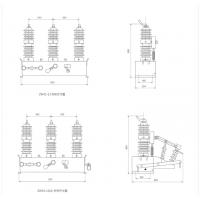智能ZW32-12D/630A户外真空断路器 10KV柱上真空断路器电动