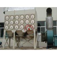 沉流式滤筒除尘器DFO3-24 火焰激光切割机脱硫滤筒除尘器 鑫业环保现货