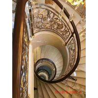 合水楼梯扶手厂 旨在打造铝艺雕花楼梯别墅扶手专属