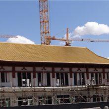 古建四合院寺庙仿古瓦批发_轻钢别墅琉璃瓦屋顶造型_古建筒瓦厂家