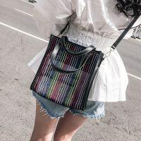 家用夏天上新小包包迷你新款小挎包透明托特包女包2018少女单肩斜