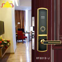 酒店门锁 门锁 RF8019酒店感应锁 宾馆酒店房卡锁 电子门锁