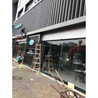 扬州室外铝格栅、冲孔铝单板 广汽新能源幕墙装饰