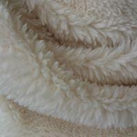 柜台布 展台布 拍照布 尖毛绒 珊瑚绒全涤 短毛绒米白色  现货
