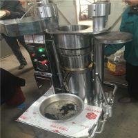 厂家直销260型液压榨油机液压芝麻榨油机 立式全自动香油机设备