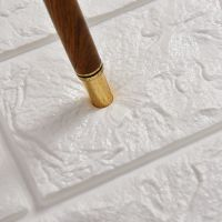 墙纸自粘3d防撞壁纸客厅卧室温馨仿砖泡沫立体软包贴纸背景墙装饰