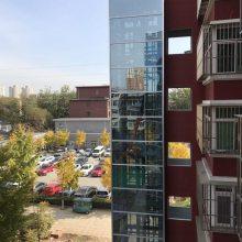 北京寅鼎信小区旧楼加装电梯工程