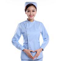护士服分体套装长短袖 医院ICU粉色蓝色工作服大码口腔医生护理服