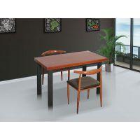 松原多面板色系可选食堂餐桌椅定制生产