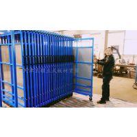 苏州板材储存货架 抽屉货架 立着放钢板 节省空间