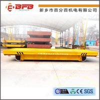 大型输变电设备电动平板车轨道预埋基础施工图纸 低压地轨小车
