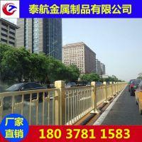 河南郑州道路护栏隔离栏市政交通镀锌钢公路马路中央围栏杆小区