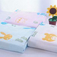 毛巾被儿童夏凉被小孩毯子薄的幼儿园小被子女童夏凉全棉午睡毯子