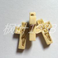 木质十字架 挂件十字架 摆件饰品配件