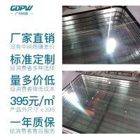 广州林森标准定制洁净清洁区双层中空观察窗净化车间医院窗内胆304不锈钢