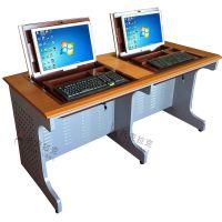 托克拉克TKLK-02实验室多功能培训电脑桌电脑桌面翻转电脑桌桌面隐藏翻转桌