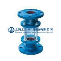 上海厂家直供玻璃管式视盅HGSO7F4-126管式HGSO7F46-101直通/三通衬氟视盅上州阀门