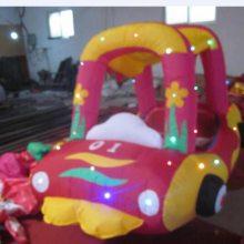 广场儿童玩具充气电瓶车 四川新款充气气模车外罩