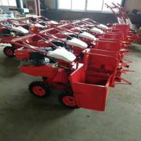 澜海 生产加工拖拉机前置玉米收获机 苞米扒皮收获机 自动上料进粮仓
