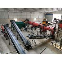 畜禽粪便肥料生产线设备 生物有机肥生产线 生物有机肥发酵的工艺流程及设备