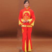 新款秧歌表演服装批发东北秧歌服舞蹈服定做成人广场舞服装套装