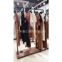 广州品牌折扣批发蕾丝衫毛衣金色新款五五羊毛打底衫