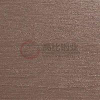 304#镜面玫瑰金木纹板销售厂家 木纹压花不锈钢板电镀玫瑰金色 可定制