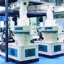 恒美百特供应立式环模颗粒机 时产1-1.5吨颗粒全套生产线