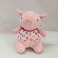 一件代发新款可爱懒粉猪公仔毛绒玩具送女生礼物家居装饰猪年礼物