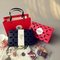 镂空500g手工阿胶糕包装盒 燕窝玫瑰花茶果茶礼盒红糖黑糖包装盒