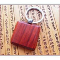 木制钥匙扣 实木钥匙链 红木钥匙牌 个行李牌性 木质钥匙扣