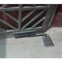 厂家直销孝感、黄冈小区人行通道门开门机 冷雨自动地弹簧电机 小区广告门自动闭门器