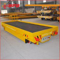 茌平烤漆房转运地轨车 工业爬坡式15吨平板运输车 轨道货车哪家强