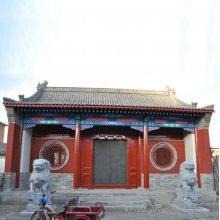 河北农村戏楼设计、戏楼施工、若艺古建工程承包