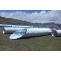 衡水贝尔克热镀锌钢波纹涵管的设计标准 符合国家要求