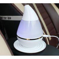 汽车迷你USB水滴型加湿器 车载香薰雾化器 空气净化器11-3C965