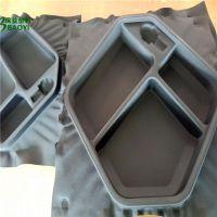 厂家直销防水布料贴合EVA模压成型箱包盒 EVA泡棉冷热盒子