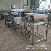 全自动凉皮机价格物超所值 免费现场培训凉皮的做法 河粉机器设备