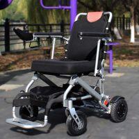 斯维驰电动轮椅/残疾人老年人电动轮椅车/锂电池轻便可折叠电动代步车