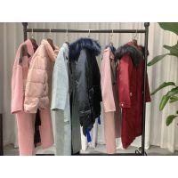 天衣布品 2019冬装新款品牌折扣女装批发走份货源渠道 羽绒服