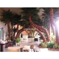 仿真植物定做 热带雨林棕榈树蒲葵树老人葵椰子树常绿植物批发