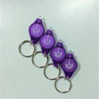 厂家供应活动赠品小礼品 塑料LED钥匙扣灯 LED小手电筒