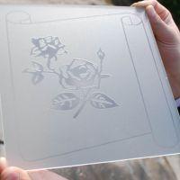 大型水磨砂 素板 无手印玉沙油砂浮法玻璃双面素板厂家直销批发