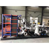 上海空调换热机组 艾保ABX10冷却塔供水板换 大堂采暖换热机组